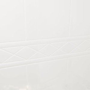 Padova tile pattern with decorative border