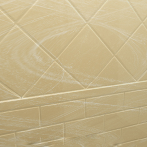 Roma Subway tile pattern with diagonal inlay