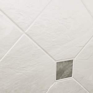 Verona texture diamond pattern with inserts - 13in x 13in